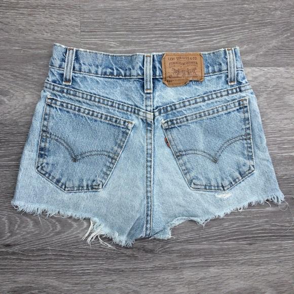 Gray Denim 26 27 28 Vintage Levi/'s Orange Label Denim Cut-offs Shorts Jean Shorts 550 Cut Off Shorts